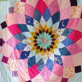 The Dahlia Quilt I