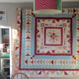 The Big Friendly Giant Medallion Quilt