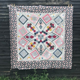 Bloomfield Text of Childhood Quilt