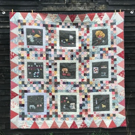 Ann West: Pictures of My World Quilt