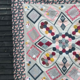 The Text of Childhood Quilt