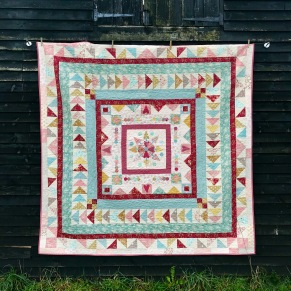 The BFG Old English Frame Quilt